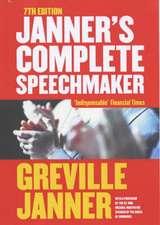 Janner Complete Speechmaker 7ed