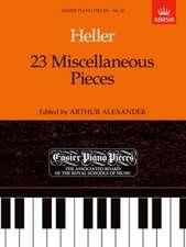 23 Miscellaneous Pieces: Easier Piano Pieces 50