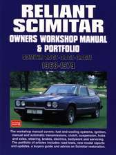Reliant Scimitar Owners Workshop Manual and Portfolio 1968-7
