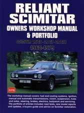 Reliant Scimitar Owners Workshop Manual and Portfolio 1968-79