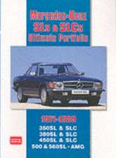 Mercedes-Benz SLS & SLCs Ultimate Portfolio 1971-1989:  1977-1995