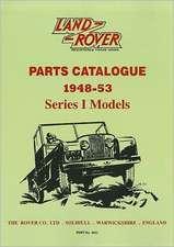Land Rover Series I Parts Catalogue 1948-53
