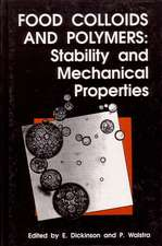 Food Colloids and Polymers: Stability and Mechanical Properties