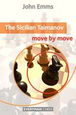 Sicilian Taimanov:  Move by Move