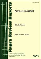 Polymers in Asphalt