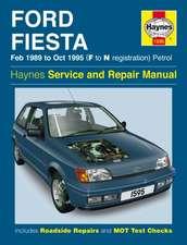 Ford Fiesta (Petrol) 1989-95 Service and Repair Manual: Ford Fiesta Petrol (Feb 89 - Oct 95) F to N