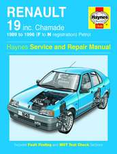 Renault 19 (Petrol) Service and Repair Manual: Renault 19 Petrol (89 - 96) F to N