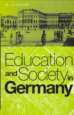 Education and Society in Germany