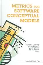 Metrics for Software Conceptual Models