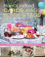 Handcrafted Cards, Bags, Boxes & Tags:  Wirecraft Embellishments for All Occasions