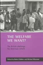 The welfare we want?: The British challenge for American reform