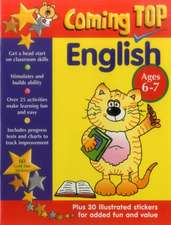 Coming Top English Ages 6-7:  Get a Head Start on Classroom Skills - With Stickers!