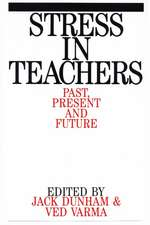 Stress in Teachers: Past, Present and Future