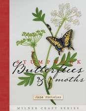 Stumpwork Butterflies & Moths:  Techniques and Patterns