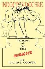 Heidegger: Thinkers of our Time