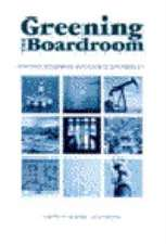 Greening the Boardroom: Corporate Governance and Business Sustainability