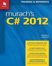 Murach's C# 2012