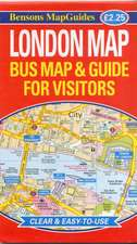 London Map: Bus Map and Guide for Visitors