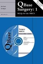 QBase Surgery: Volume 1, MCQs for the MRCS