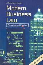 Modern Business Law 3rd Ed:  Principles and Practice