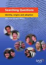 Searching Questions: Identity, Origins and Adoption