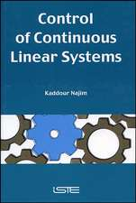 Control of Continuous Linear Systems