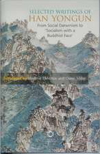 Selected Writings of Han Yongun:  From Social Darwinism to Socialism with a Buddhist Face