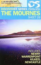 Discoverer Series 29. The Mournes 1 : 50 000