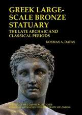 Greek large-scale bronze statuary: the late archaic and classical periods