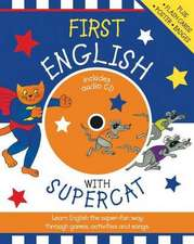 First English with Supercat. Book + CD