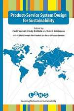 Product-Service System Design for Sustainability:  A Guide to Working with Business for Greater Social Change