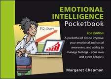 Chapman, M: Emotional Intelligence Pocketbook