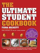 The Ultimate Student Cookbook:  The Vegetarian Cookbook