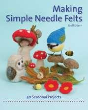 Making Simple Needle Felts