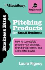 Pitching Products for Small Business