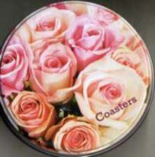 Romantic Country Flowers Coasters 8 Pack:  Superstars