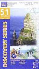 Irish Discovery Series 51. Clare, Galway 1 : 50 000