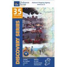 Irish Discovery Series 35. Cavan, Louth, Meath, Monaghan 1 : 50 000