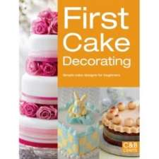 First Cake Decorating