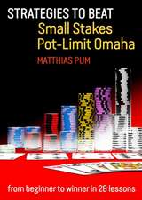 Strategies to Beat Small Stakes Pot-Limit Omaha:  From Beginner to Winner in 28 Lessons