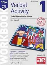 11+ Verbal Activity Year 4/5