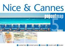 Popout Map Nice & Cannes Double