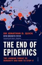 End of Epidemics