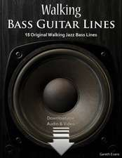 Walking Bass Guitar Lines