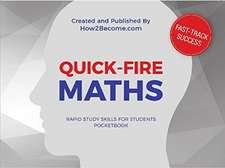 QUICK-FIRE MATHS Pocketbook