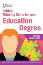 Bottomley, J: Critical Thinking Skills for your Education De