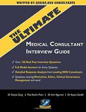 ULTIMATE MEDICAL CONSULTANT INTERVIEW GU