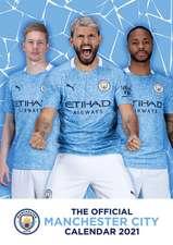 Official Manchester City A3 Calendar 2022