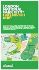 London National Park City: Greenwich Map