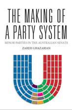 Making of a Party System: Minor Parties in the Australian Senate
